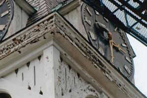 Resetting the clock -  pre-repair work